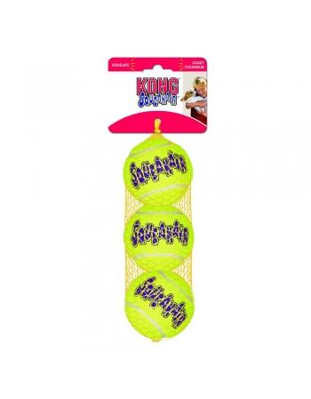 KONG SQUEAKAIR TENNIS BALLS SMALL (AST3)