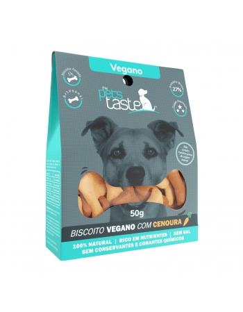 PETS TASTE VEG COM CENOURA 50GR (P04)