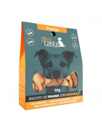 PETS TASTE FRANGO COM CENOURA 50GR (P03)