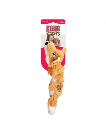 KONG SCRUNCH KNOTS FOX MED/LAR (NKS11)
