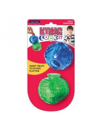KONG LOCK-IT 2-PK LARGE (PLT11)