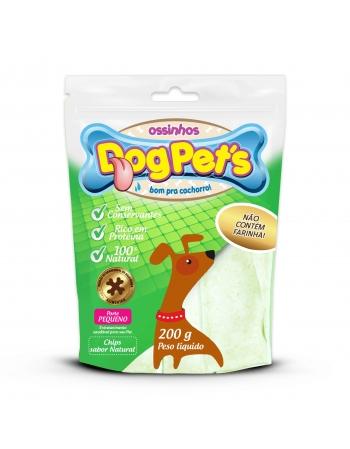 DOGPET`S CHIPS SABOR NATURAL PEQ 200GR