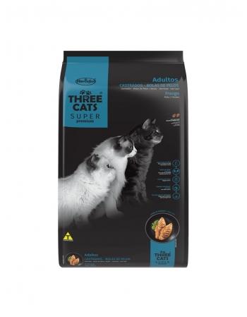 THREE CATS CASTRADO FRANGO 10,1KG